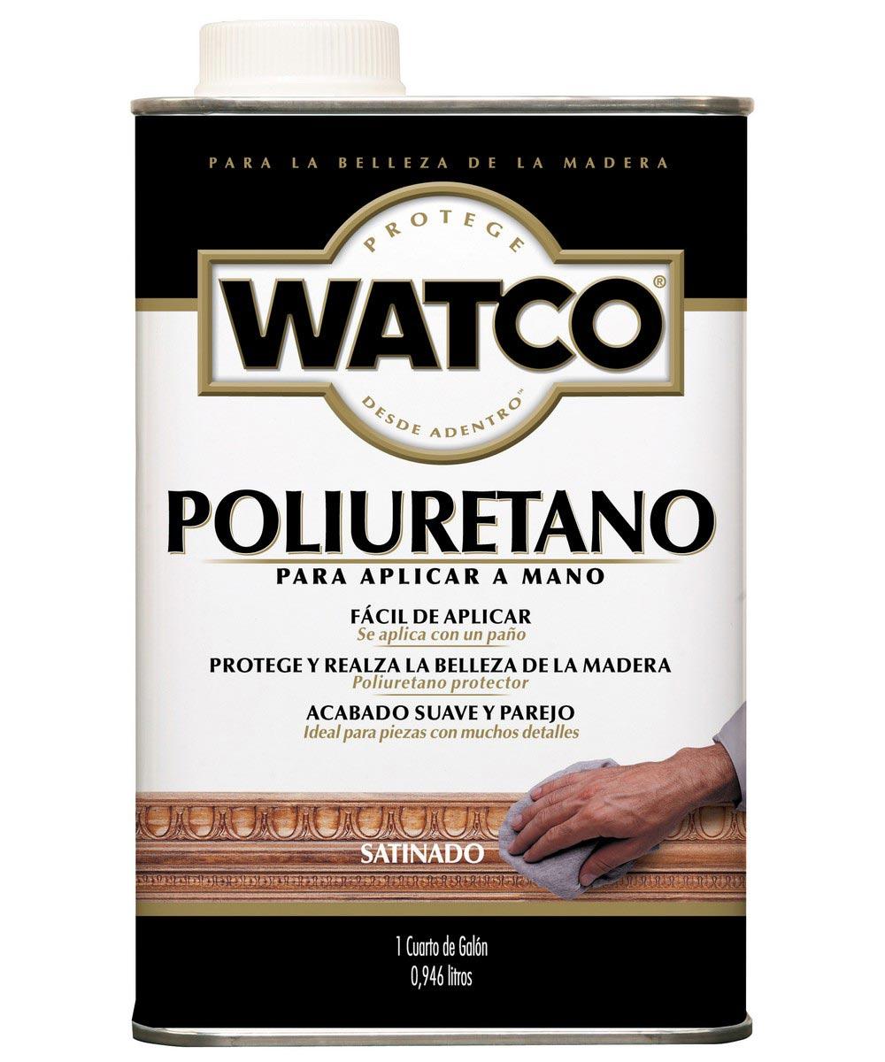 WATCO Wipe-On Poly, Quart, Satin