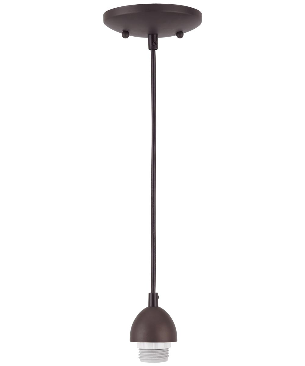 Single Light Oil Rubbed Bronze Pendant