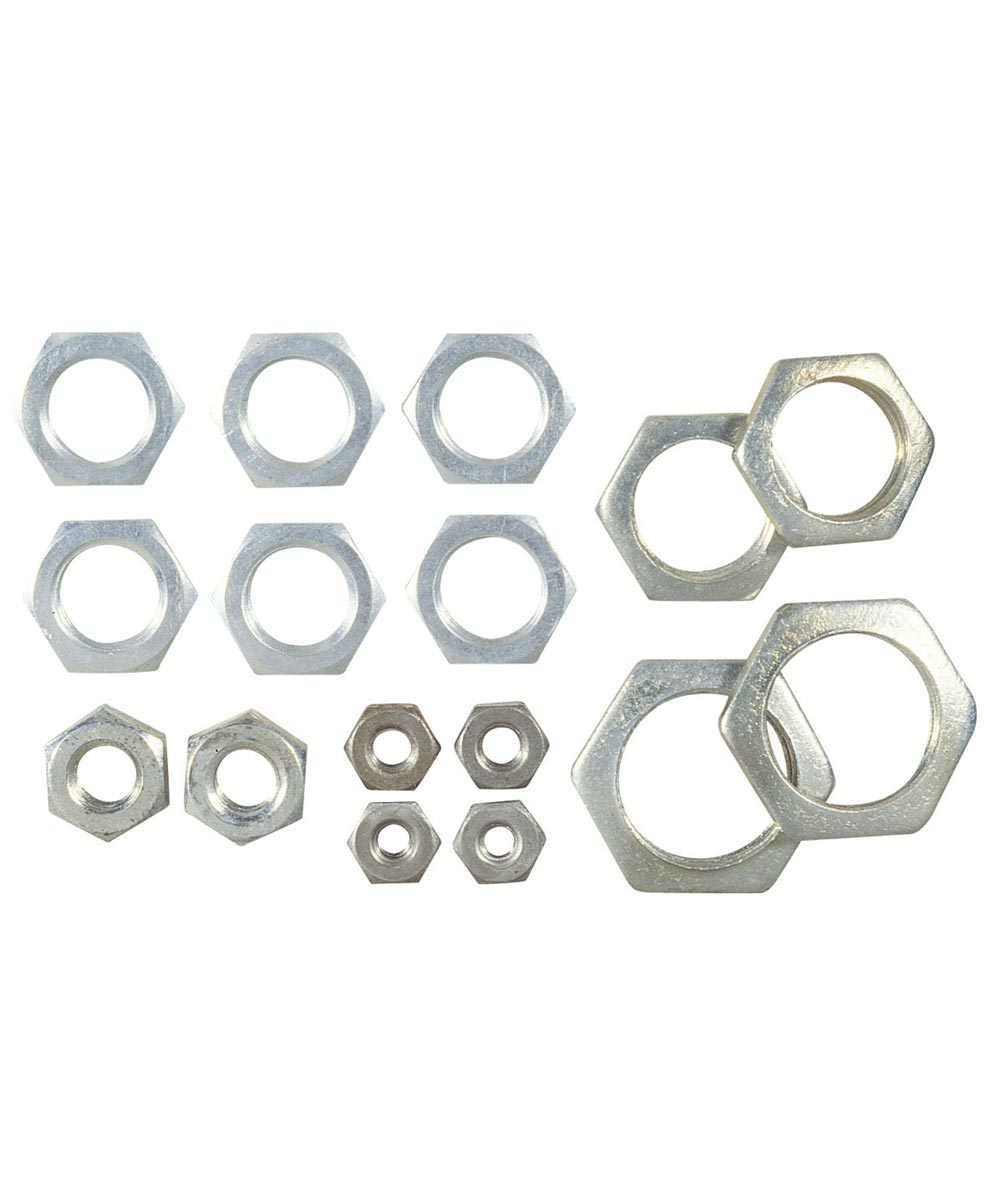 Westinghouse Steel Locknuts, Assorted Sizes