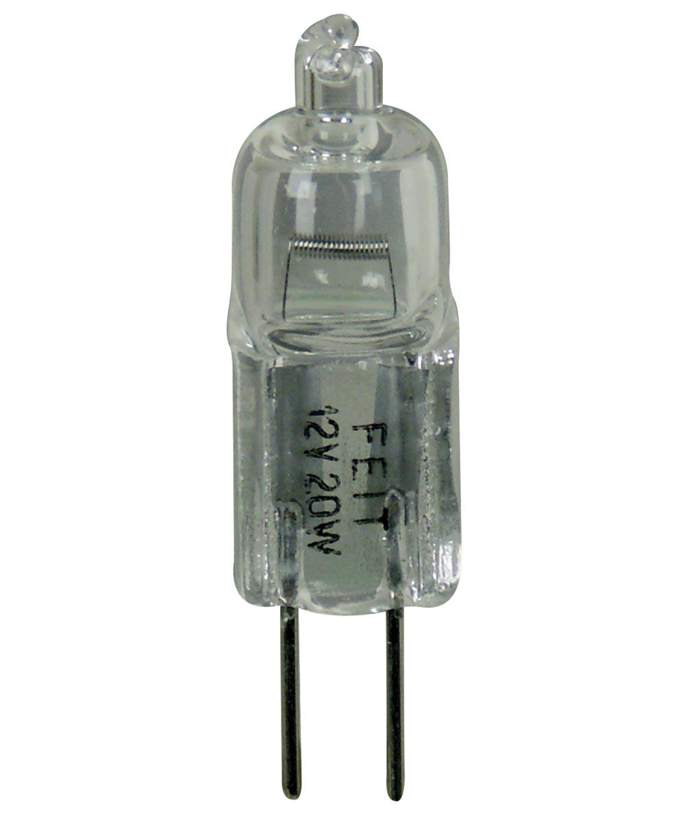 Feit Electric 20 Watt Halogen Clear G8 Base 120 Volt Bulb