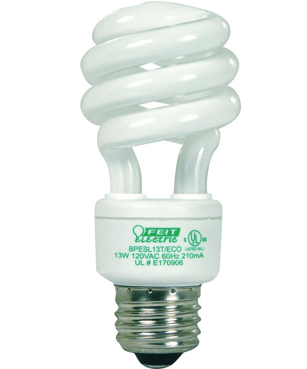 Feit Electric 13 Watt Compact Fluorescent Light ECOBulb Plus Mini Twist