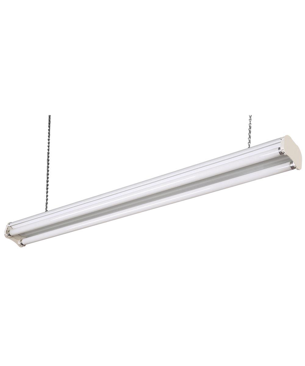 48 in. White Fluorescent Shop Light