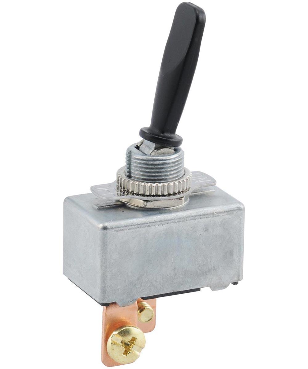 Black SPST On-Off Toggle Switch (50 Amp)