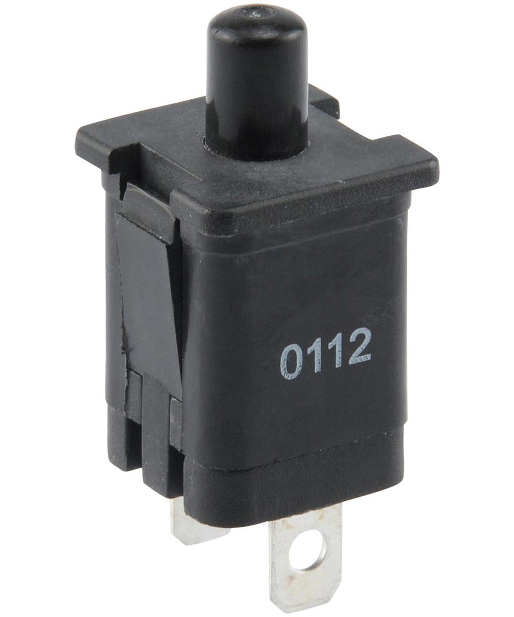 Normally On Quick Connect Terminal Momentary Switch (2 Amp-125 Volt)
