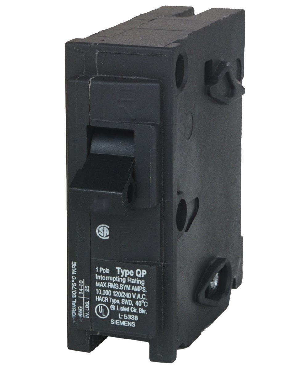 30 Amp Single Pole Circuit Breaker