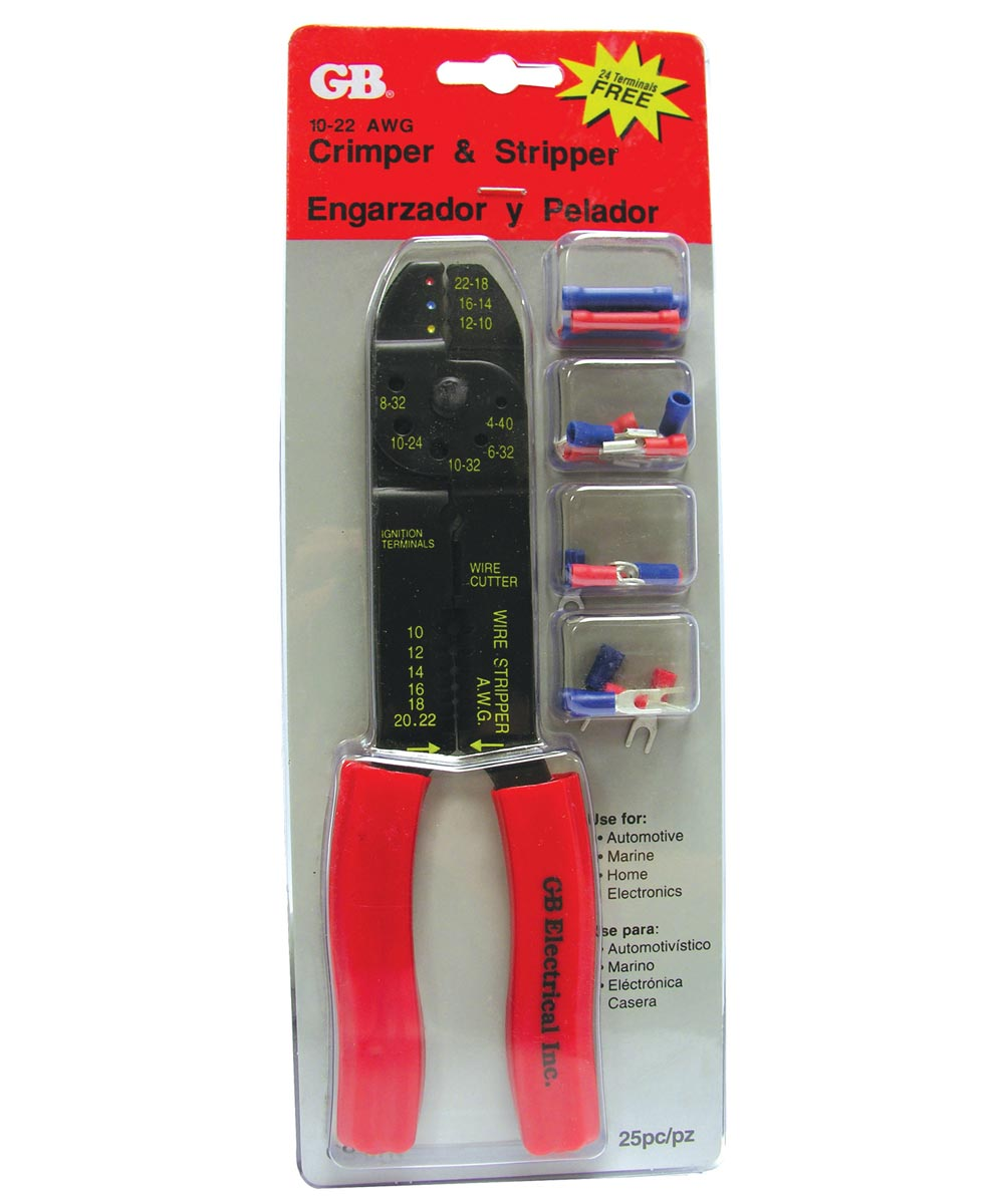 Terimal Crimping & Stripping Tool Kit
