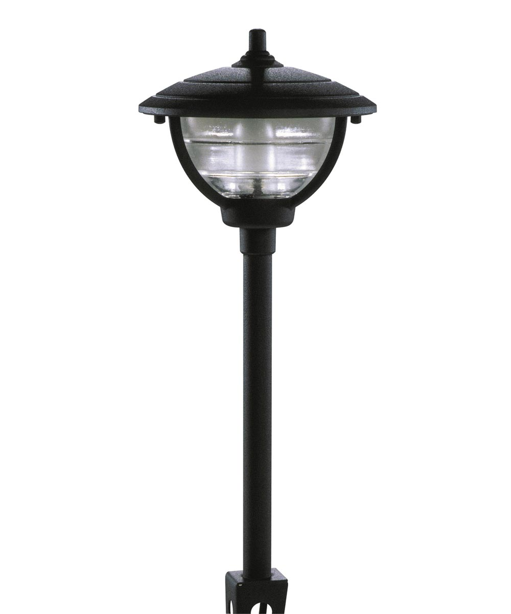 12 Volt Black Palm Series Path Light