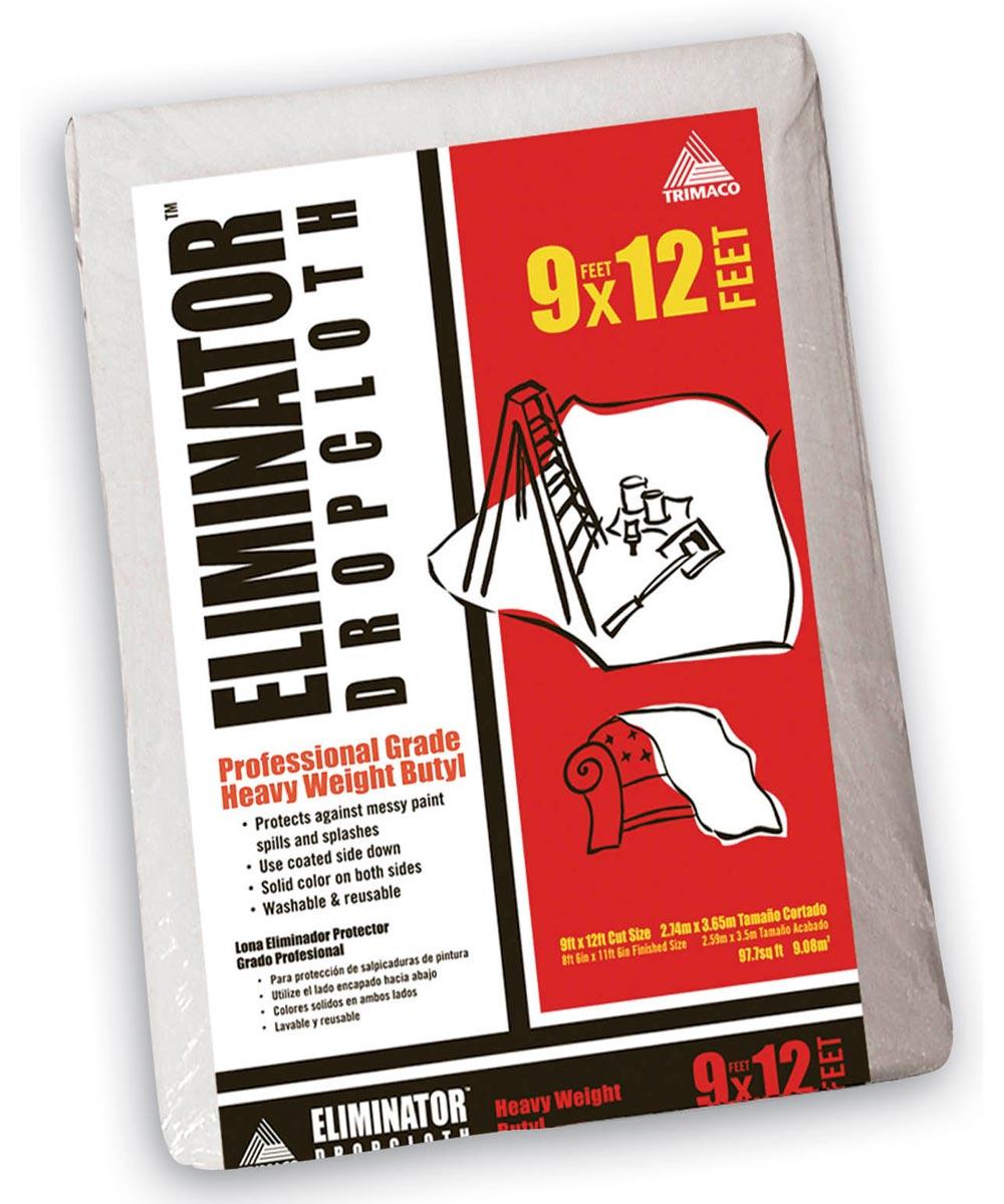 9 ft. x 12 ft. Eliminator Butyl Drop Cloth