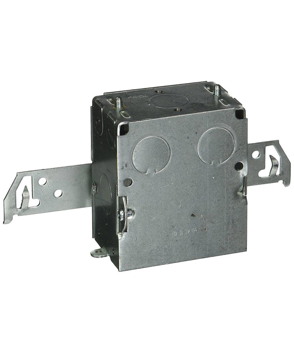 Single Gang Switch Box with BX Bracket