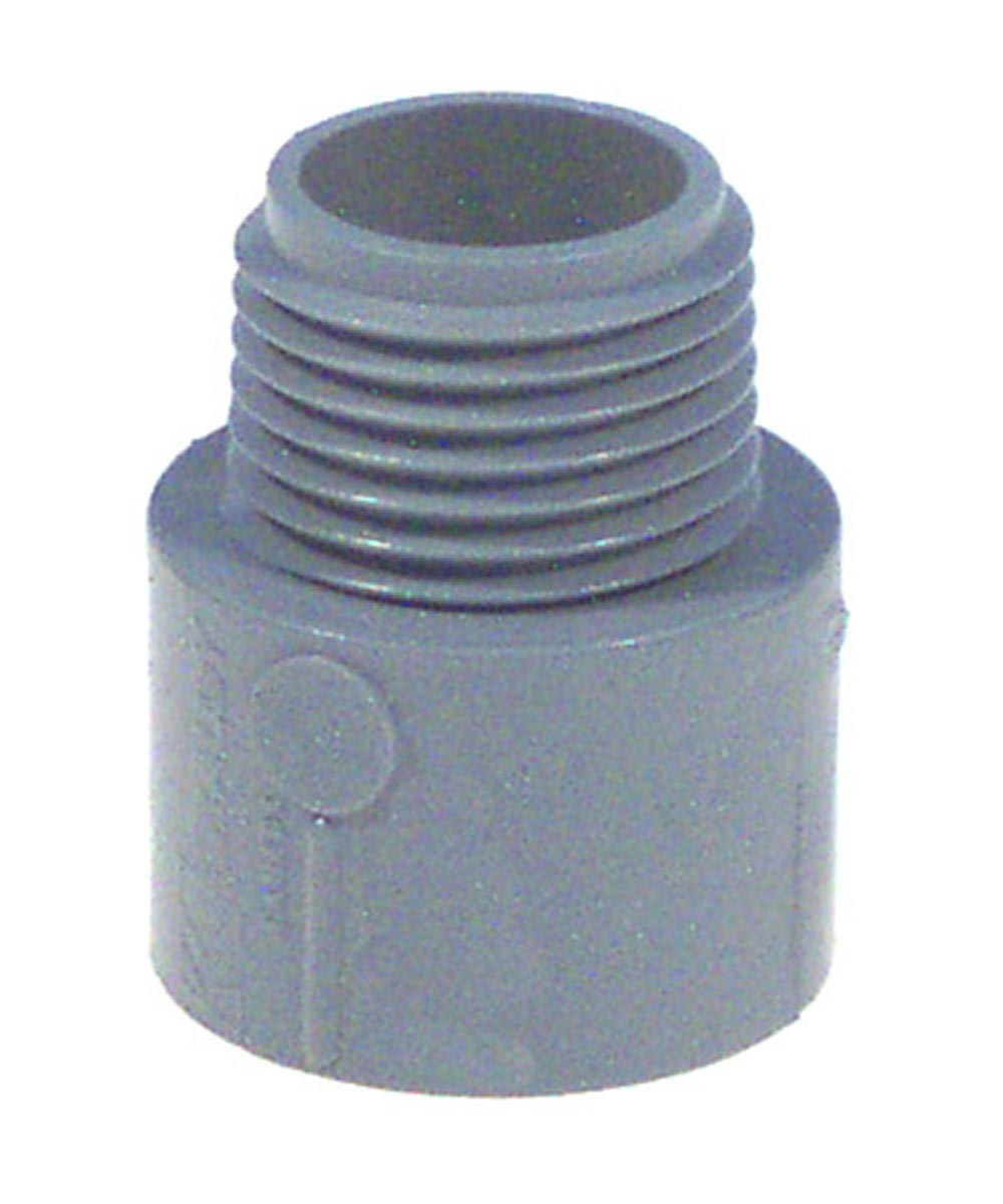 1 in. Non Metallic Male Terminal Adapter Slip To Thread