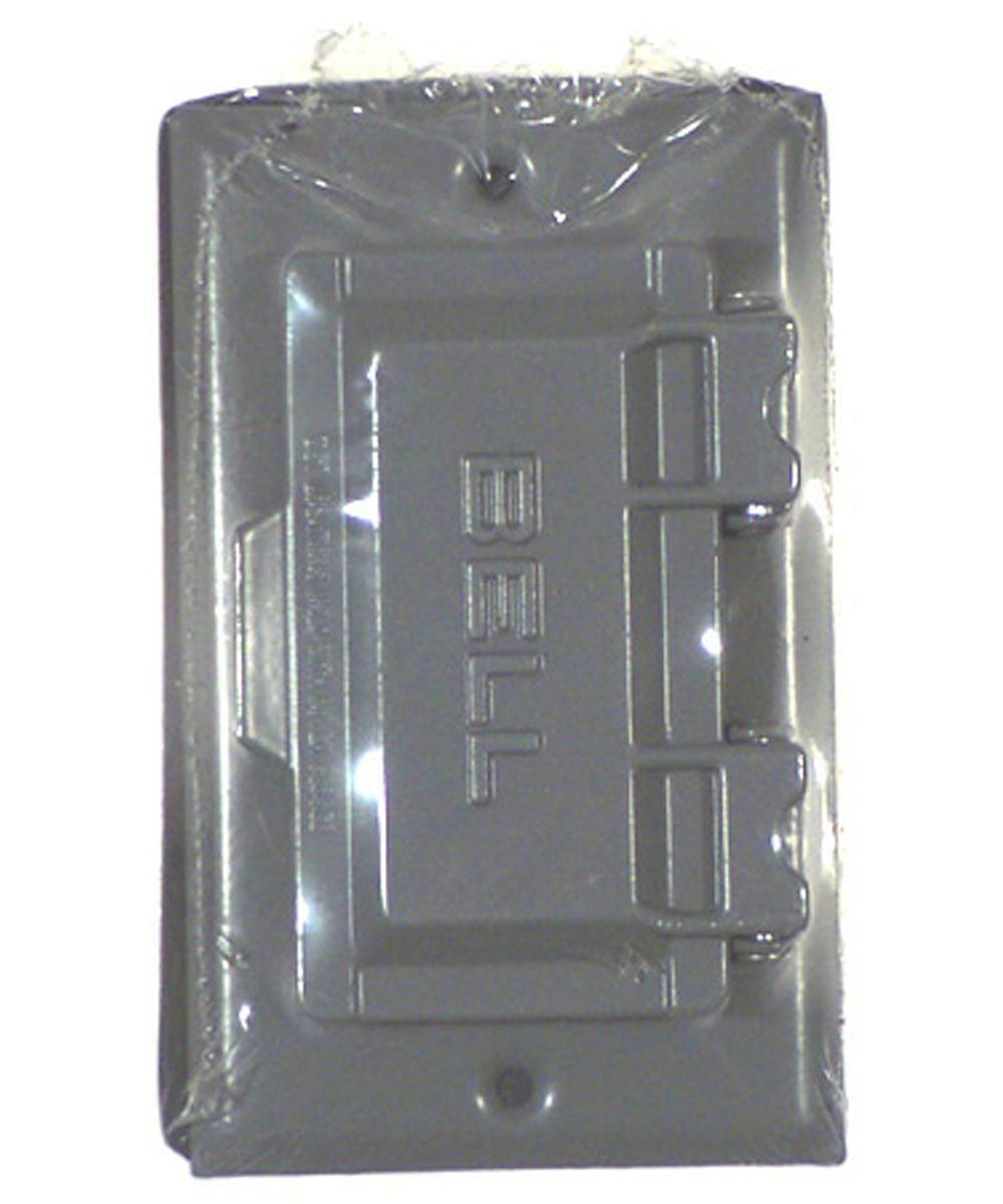 Gray Single Gang Weatherproof GFCI Box Covers