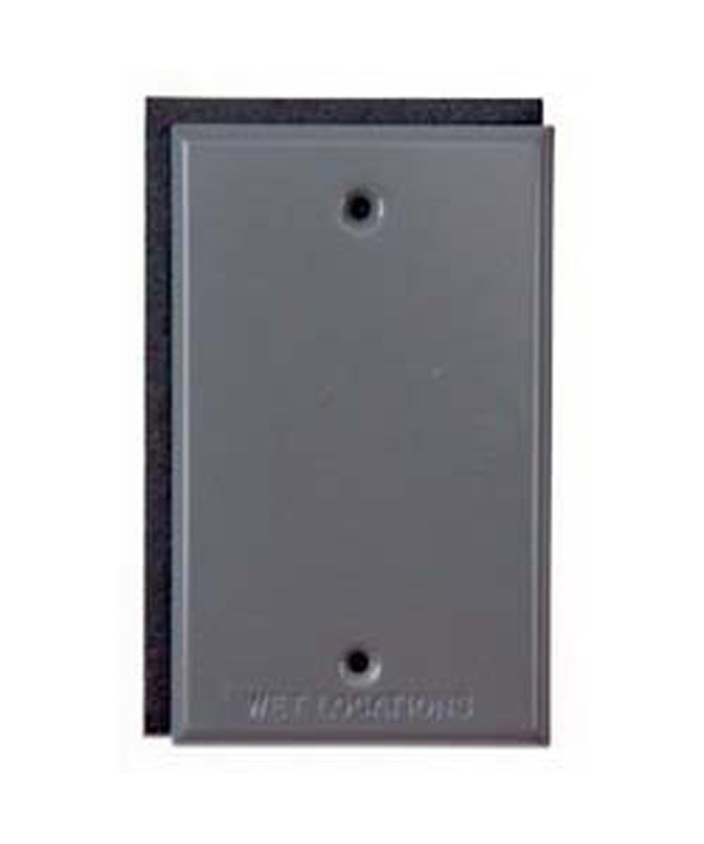 Bronze Single Gang Blank Switch Plate Cover