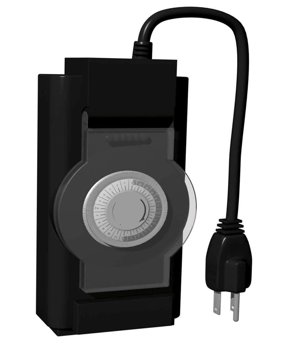 2 Outlet Outdoor Mechanical Timer