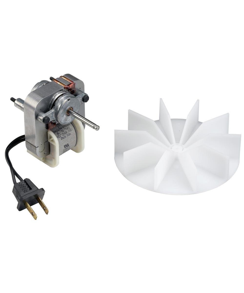 50 CFM Bathroom Fan Motor & Blower Wheel, Nutone