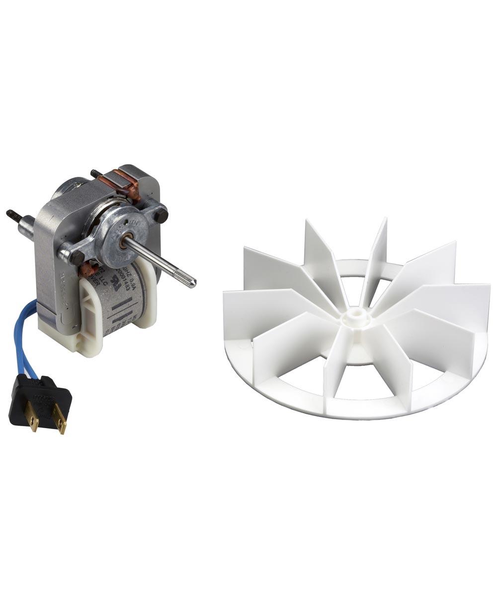 50 CFM Bathroom Fan Motor & Blower Wheel, Broan
