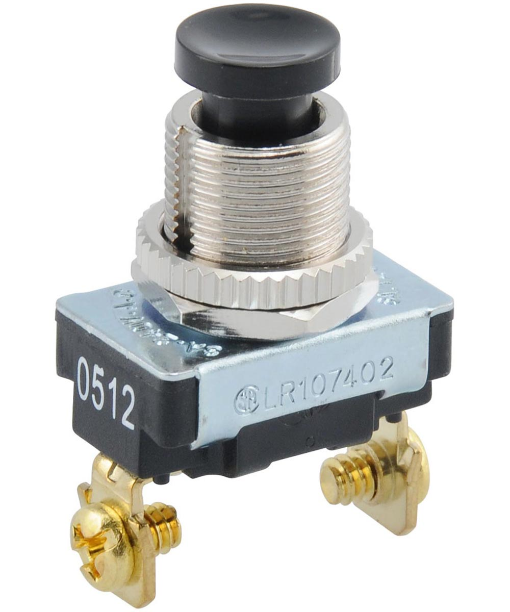 Momentary Contact Switch (125V)