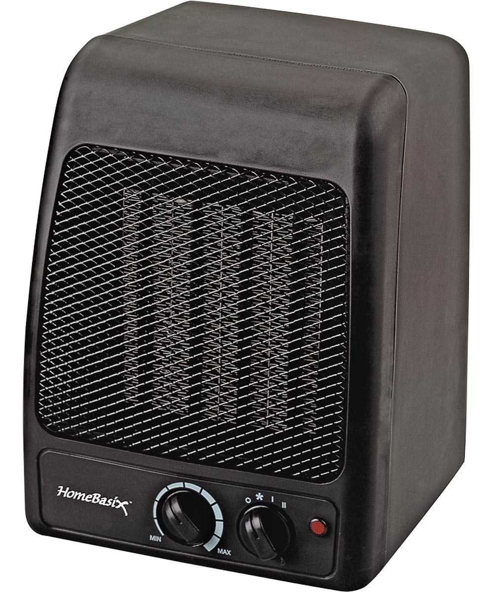 Portable Electric Heater, 750/1500 W