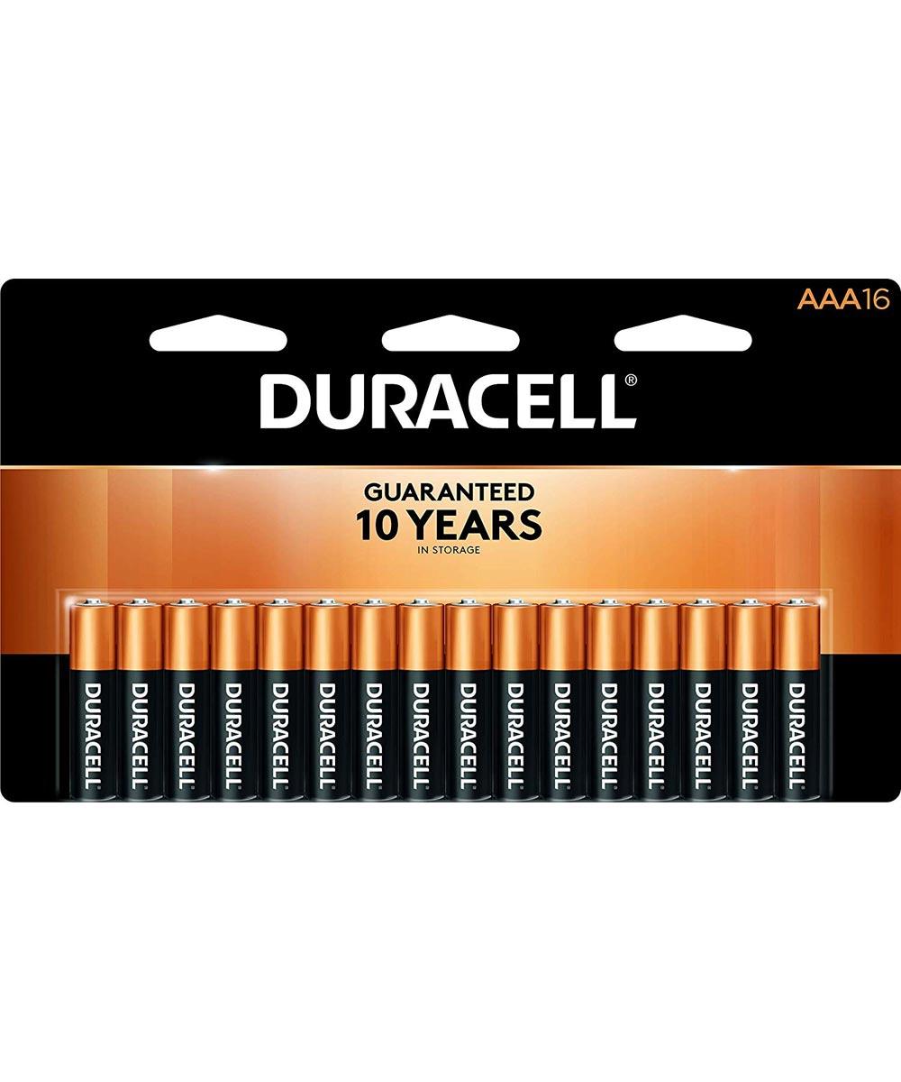 Duracell CopperTop AAA Alkaline Battery, 16 Pack
