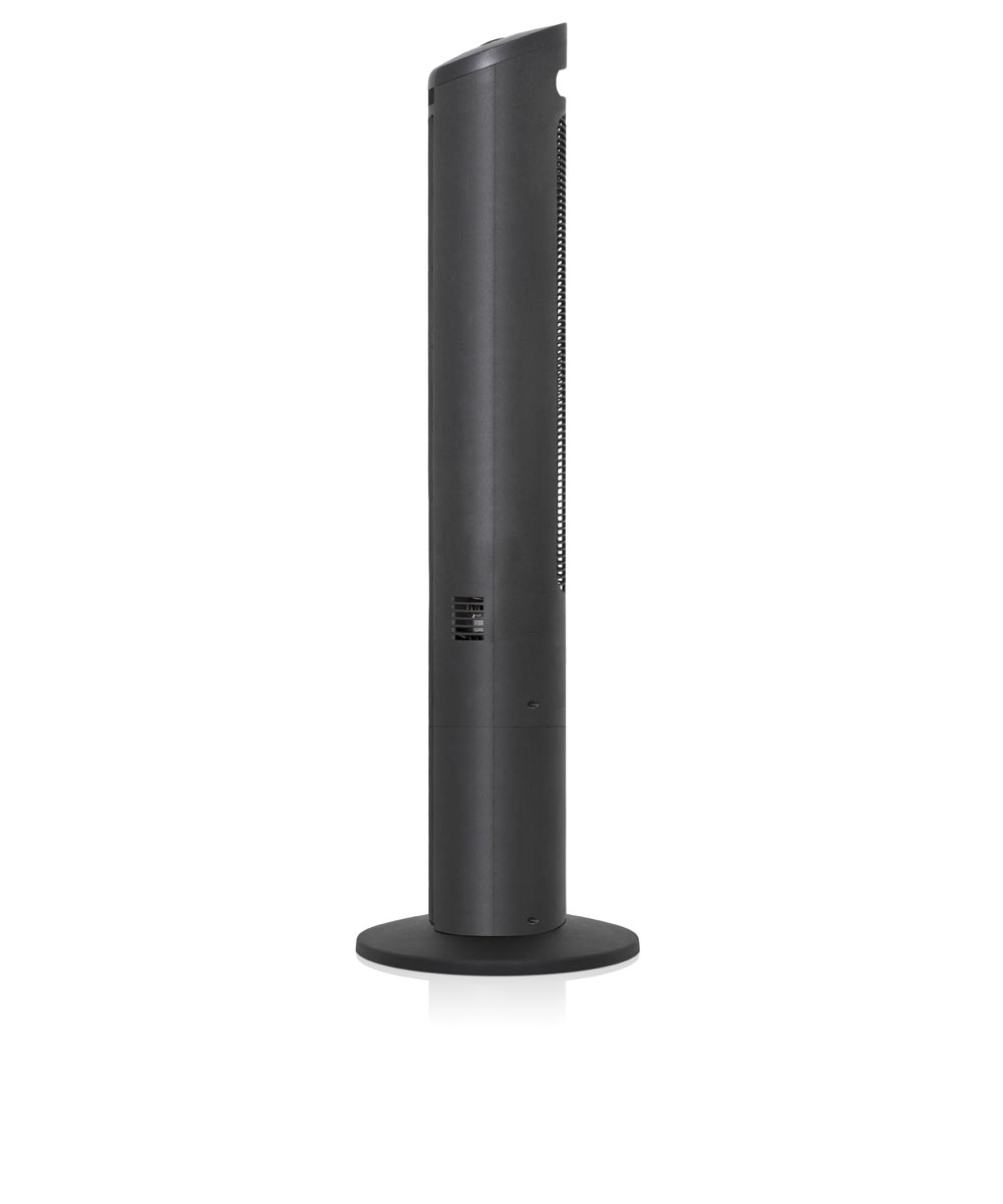 42 in. Tower Fan with Remote, Black