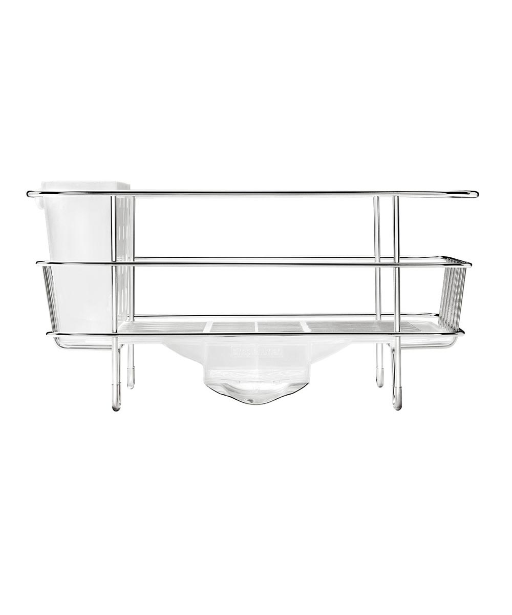 Compact Wire Frame Dishrack, Stainless Steel