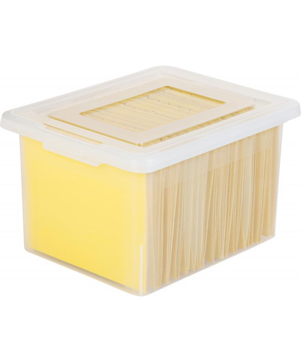 Letter/Legal Size File Box
