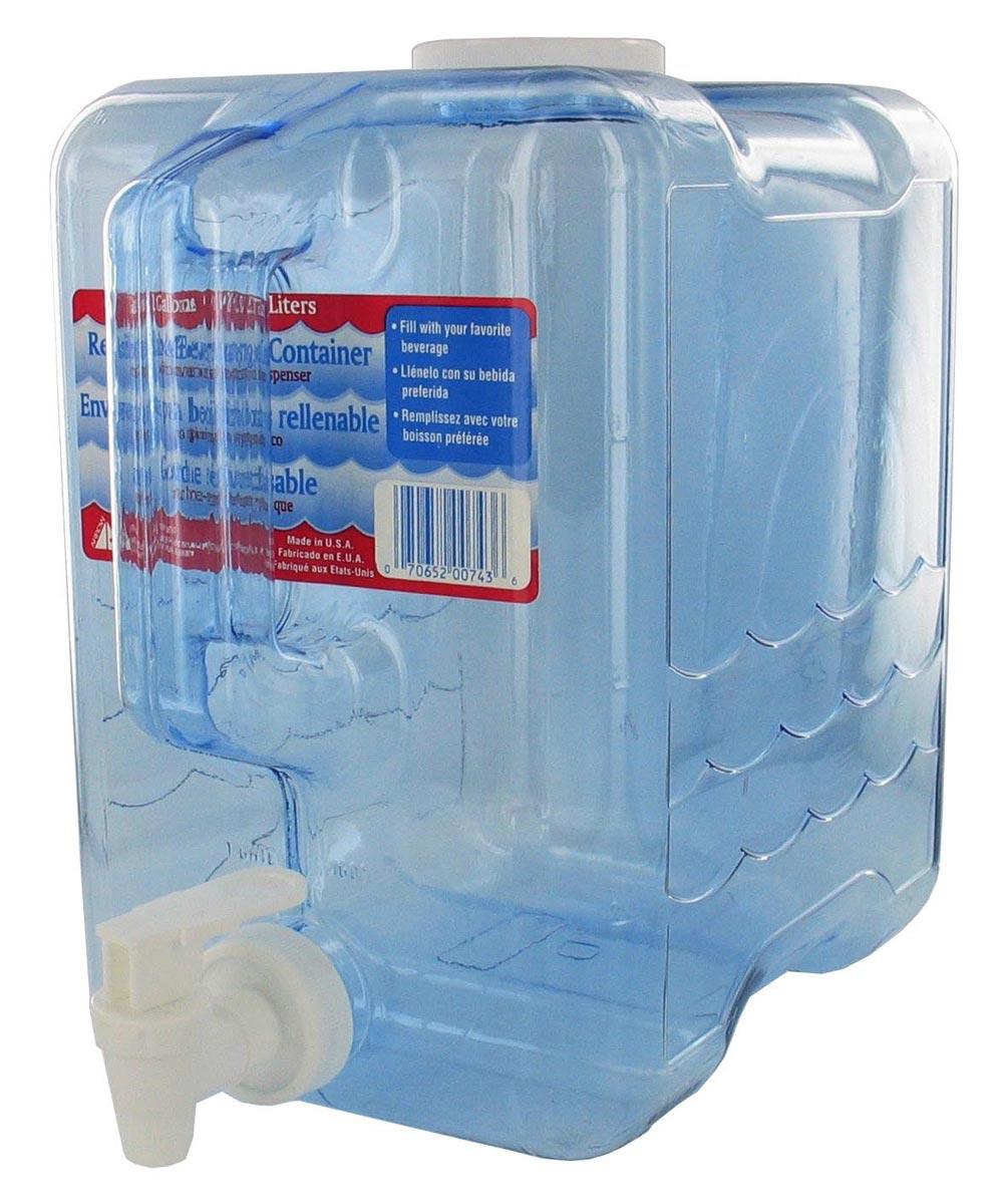 2 Gallon Beverage Dispenser Container