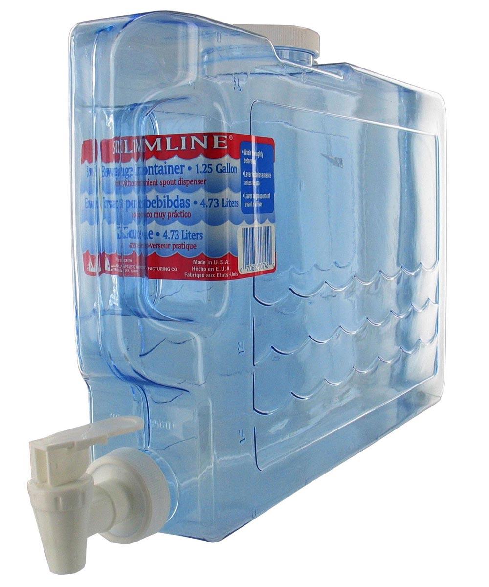 1.25 Gallon Slimline Beverage Container