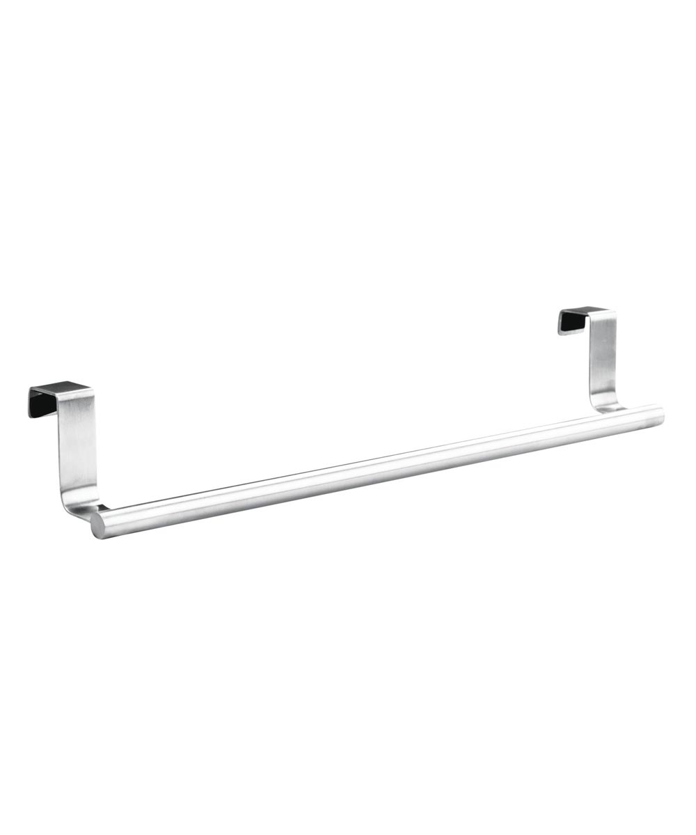 InterDesign Brushed Stainless Steel Forma Over Cabinet Dish Towel Bar