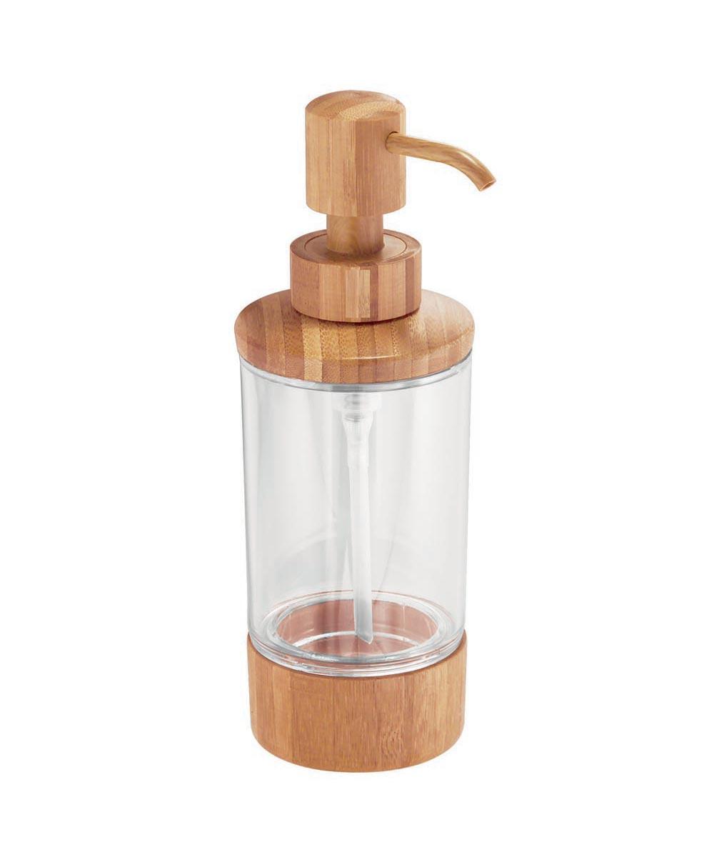 Formbu Bamboo & Plastic Soap & Lotion Dispenser Pump