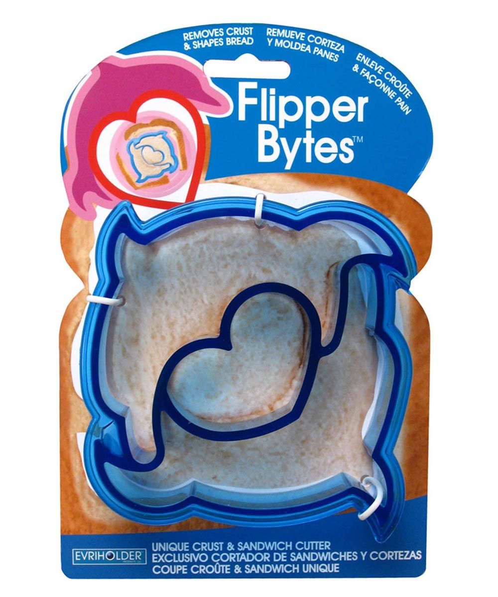 Flipper Bytes Unique Crust & Sandwich Cutter