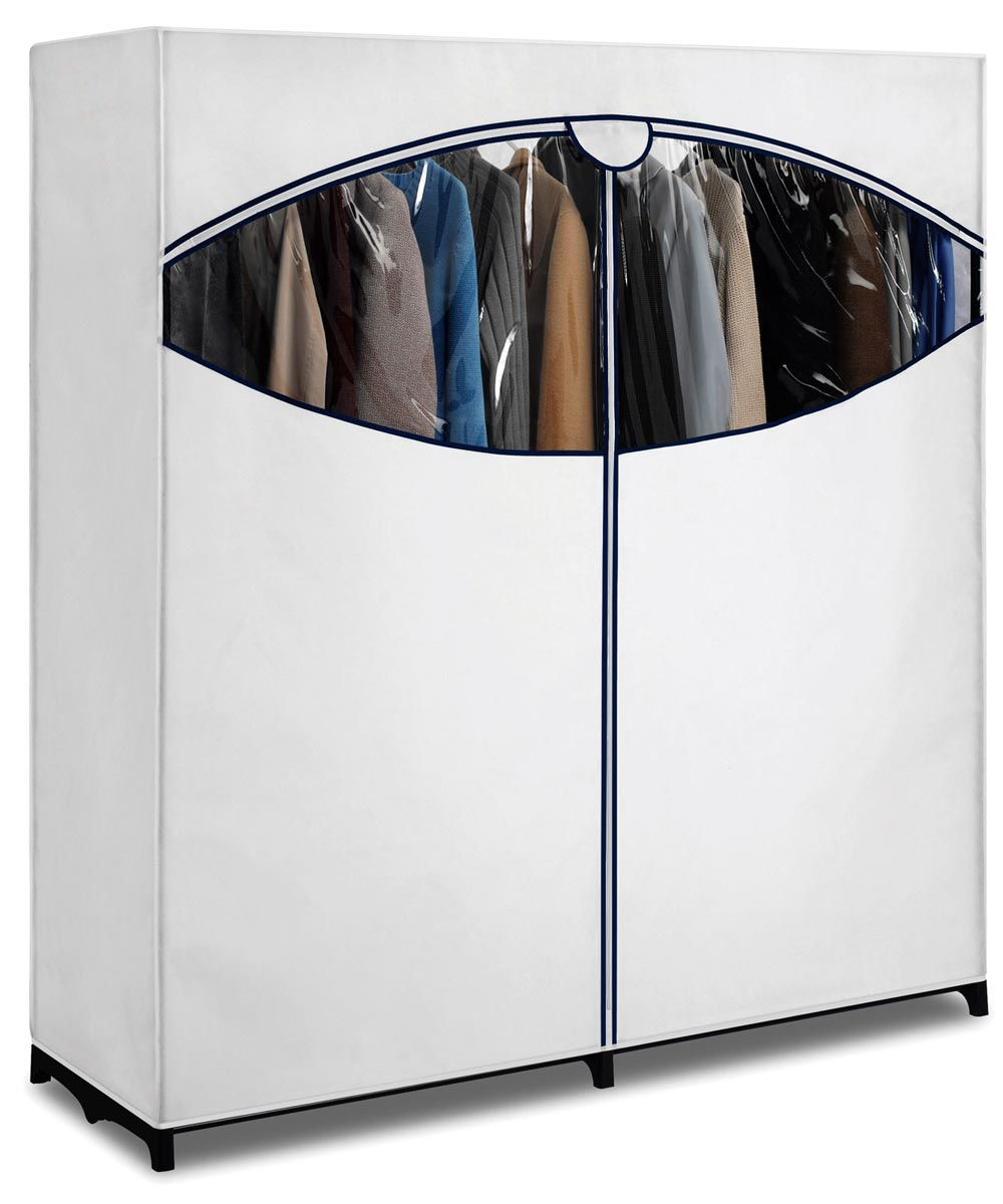 60 in. White Polypro Clothes Closet