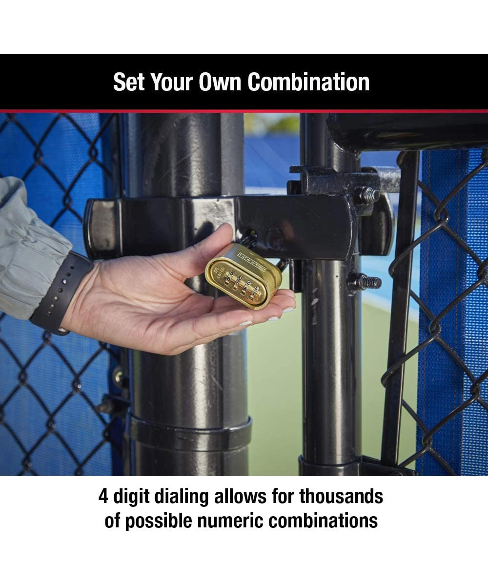 Master Lock Set Your Own Combination Solid Body Padlock
