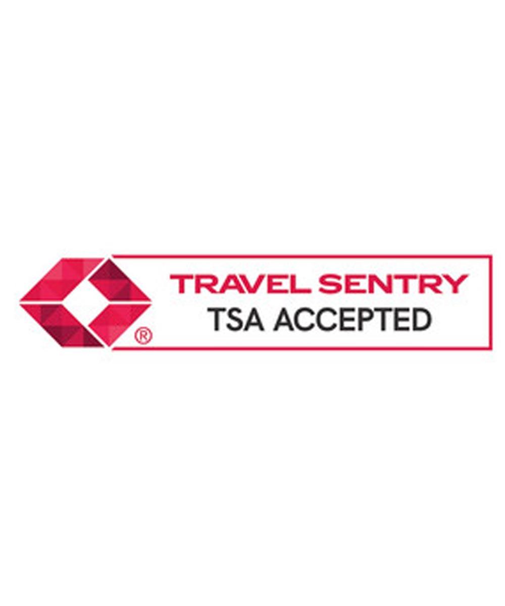 Master Lock TSA-Accepted Combination Luggage Lock, Nickle Finish