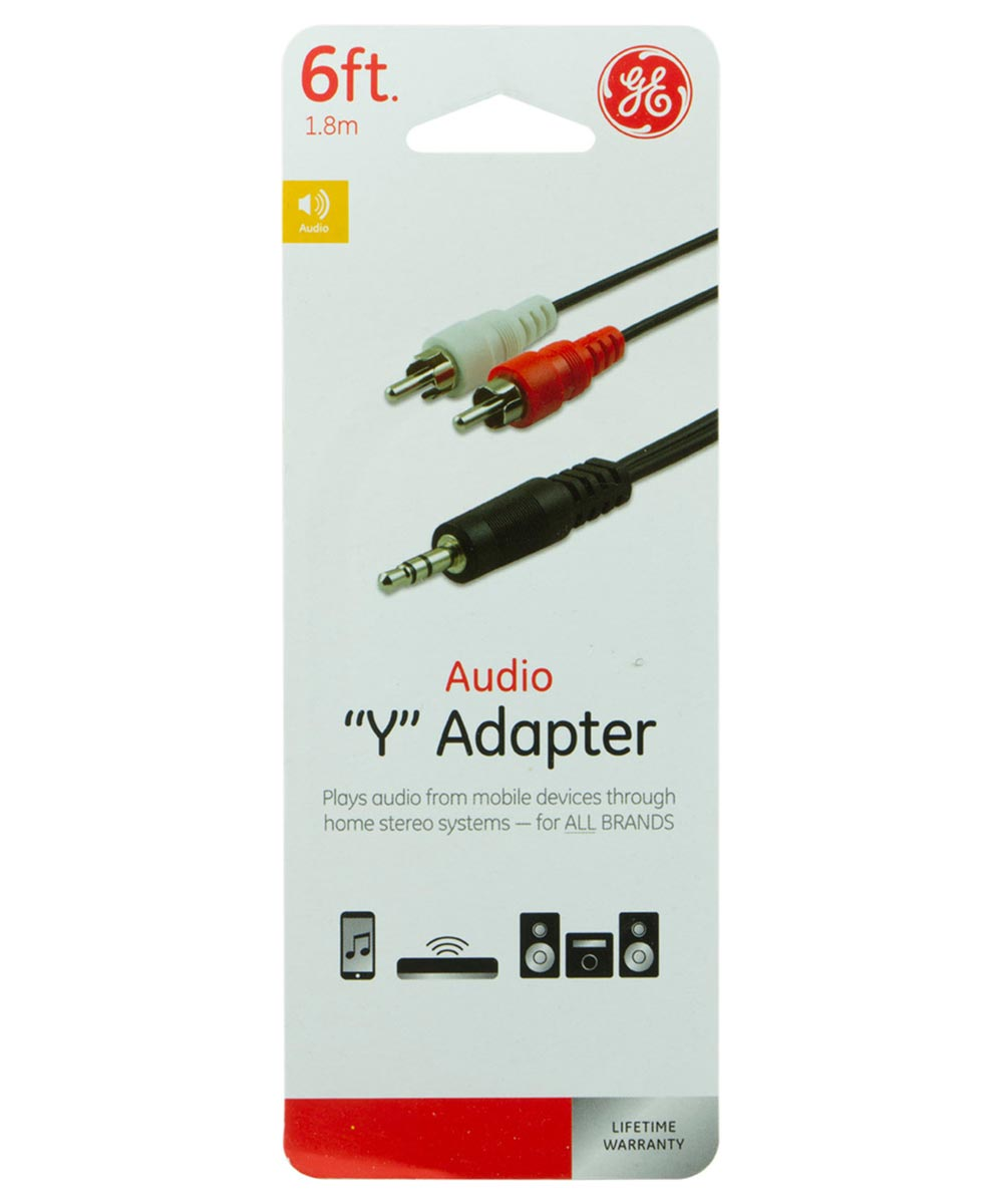6 ft. Audio Y Adapter Cable