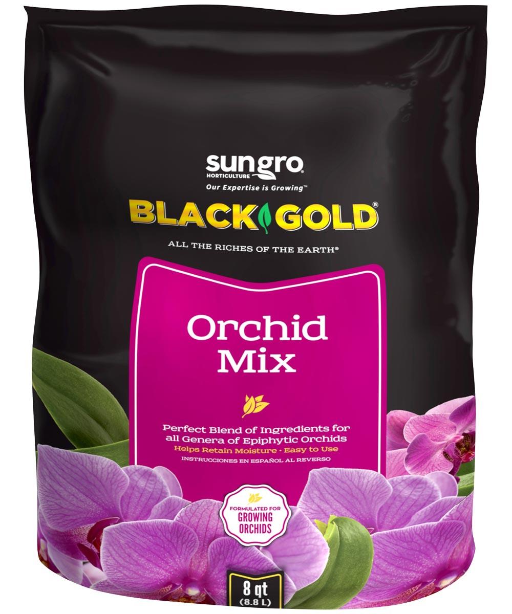 Black Gold 8 Quart Orchid Mix
