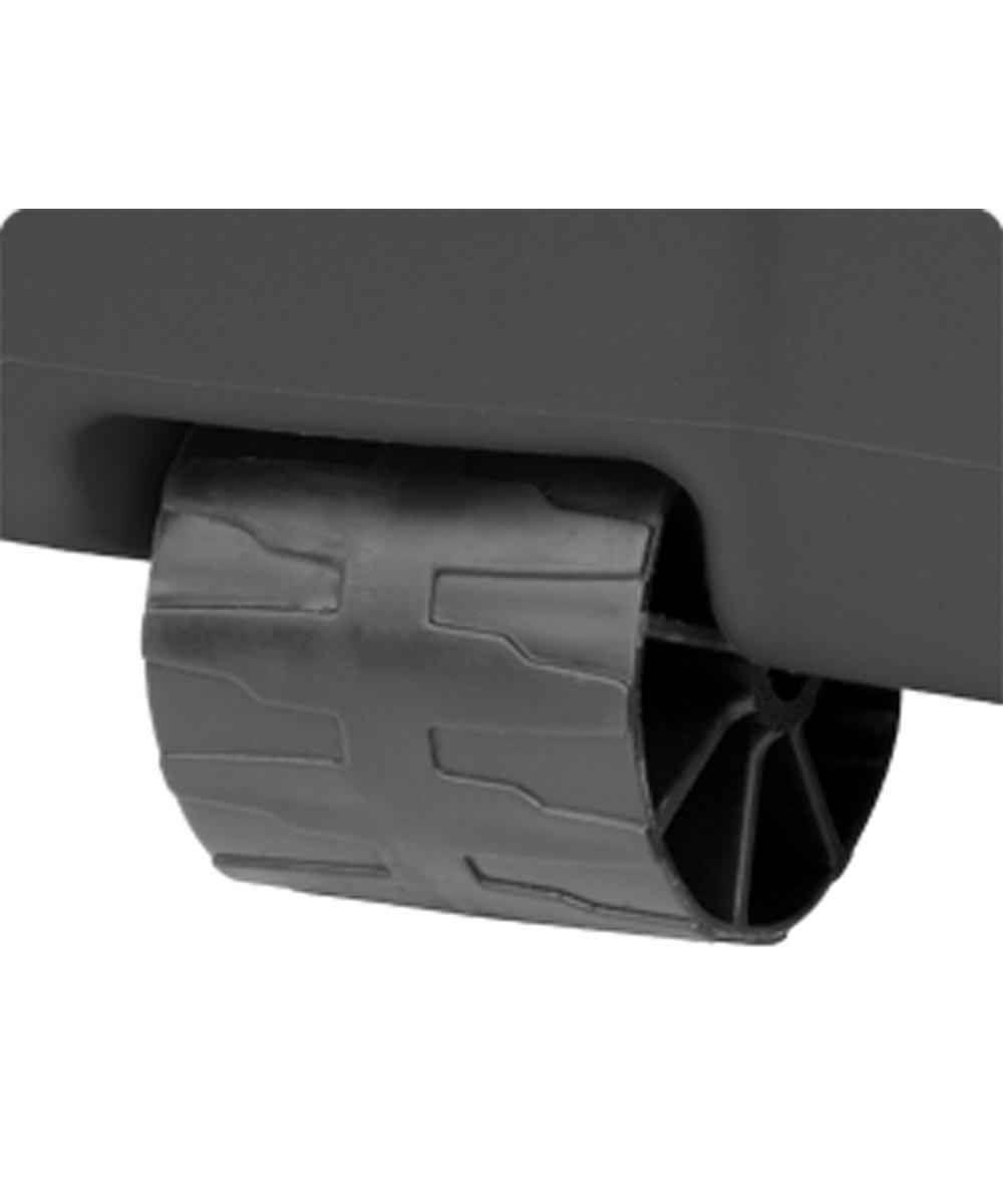 Sterilite 45 Gallon Wheeled Latch Storage Tote, Flat Gray