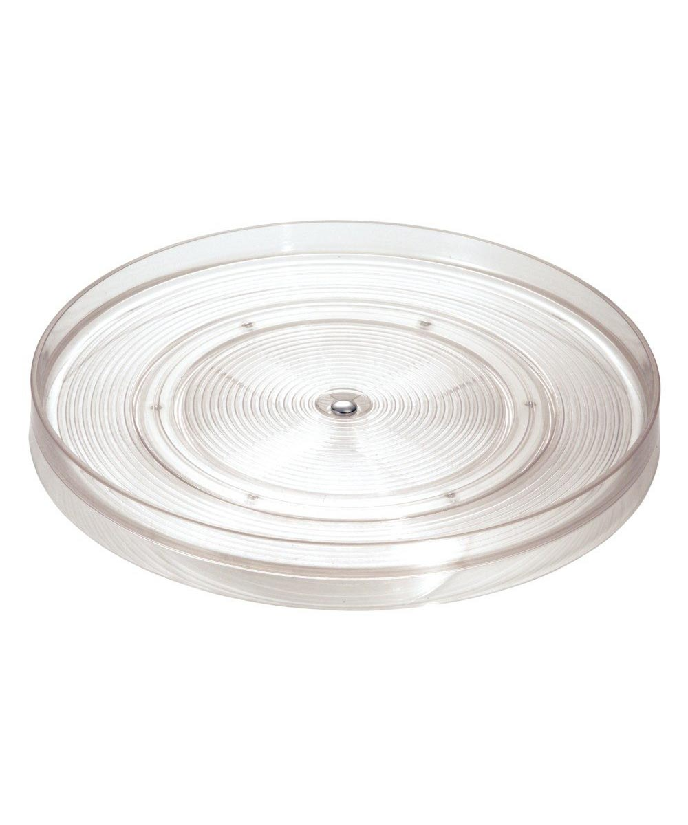 Linus 11 Inch Lazy Susan Turntable, Clear
