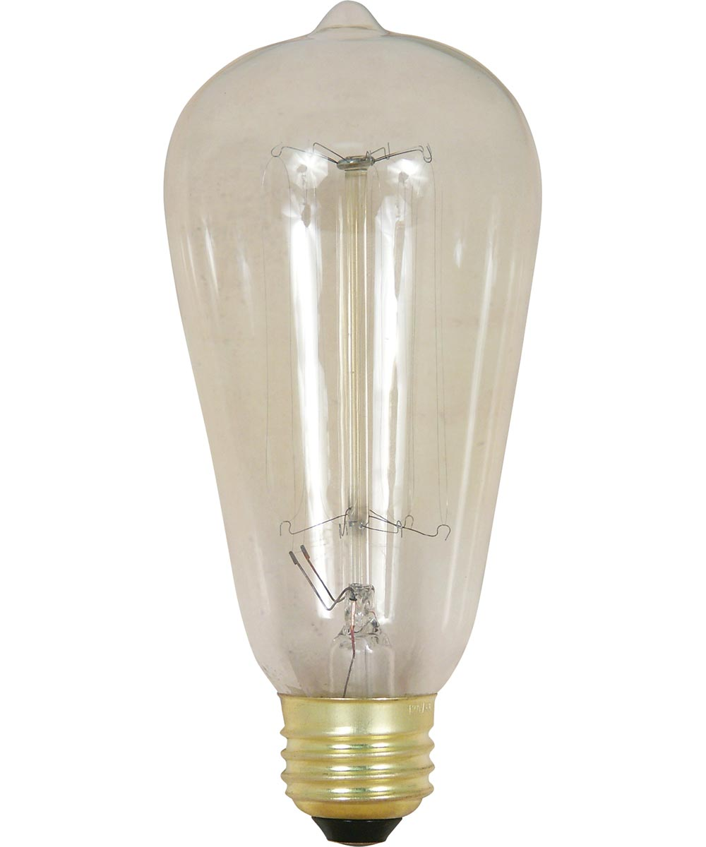 Feit Electric 60 Watt 120 Volt Clear Vintage Style Light Bulb