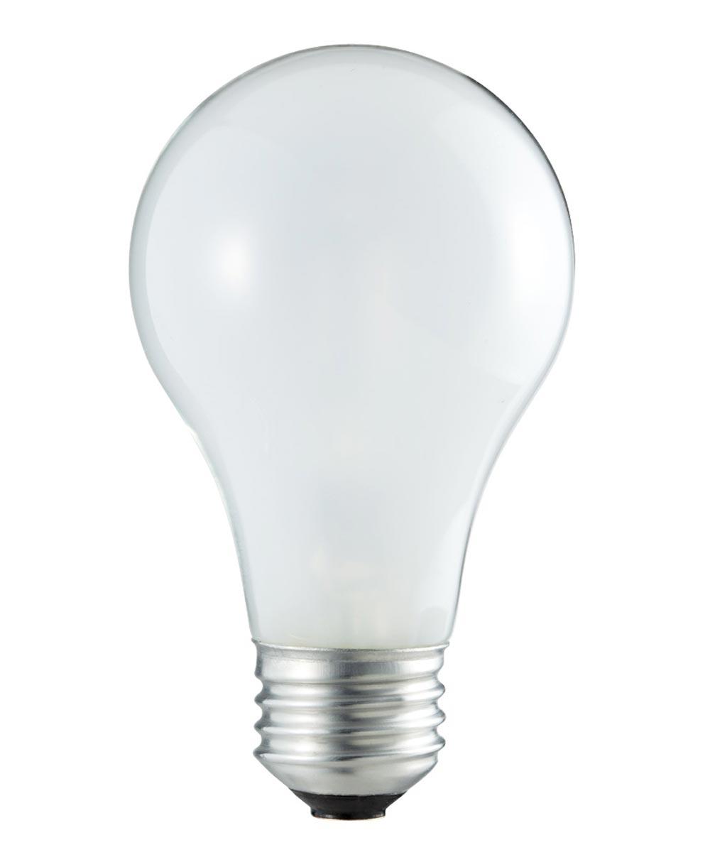 43 Watt A19 Soft White Dimmable Light Bulb Pack 4 Count
