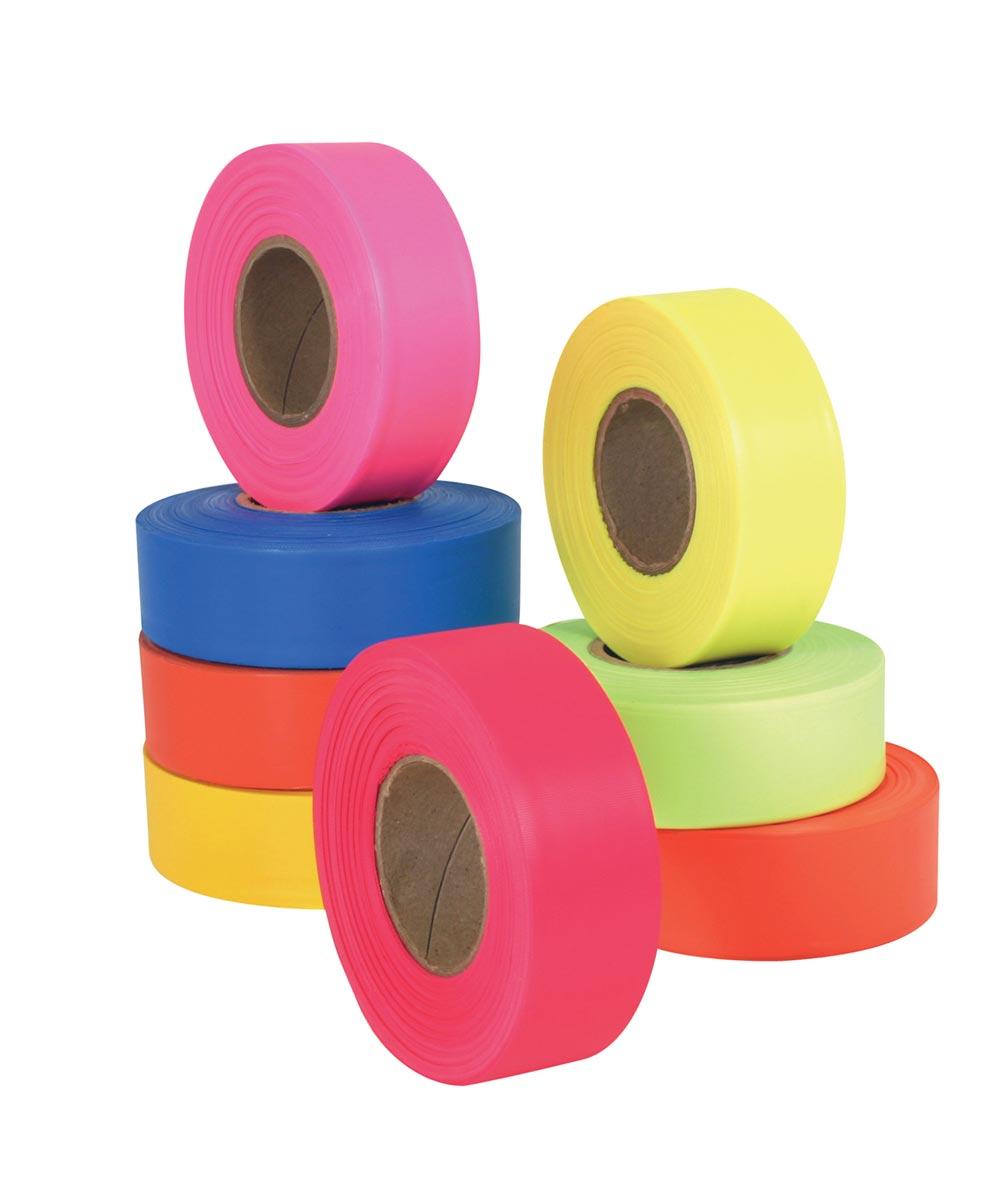 Flagging Ribbon Tape, Pink