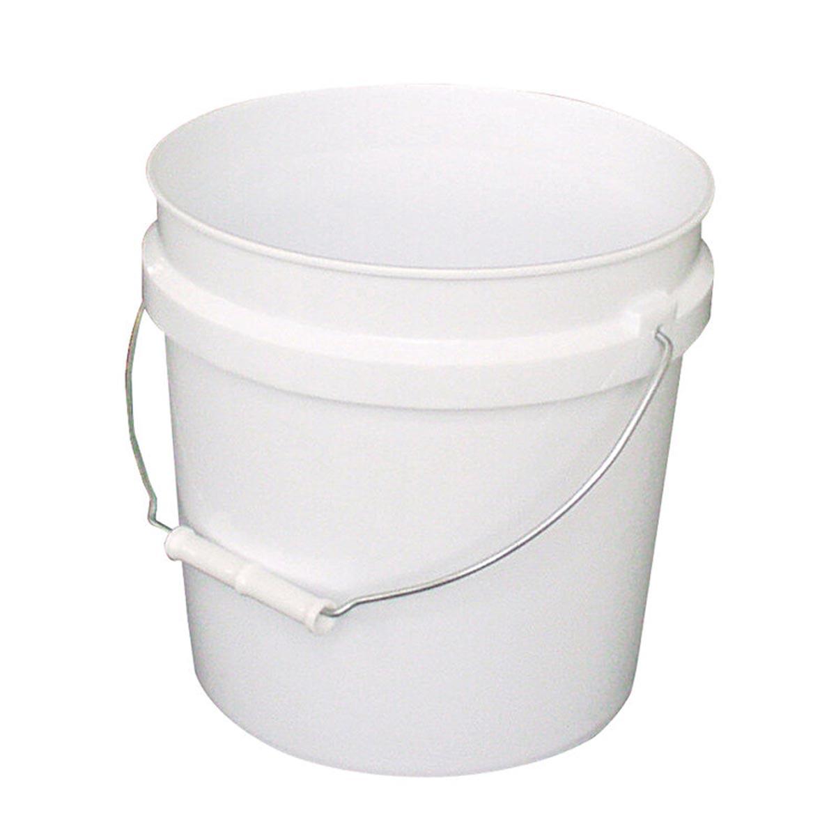2 Gallon Plastic Pail