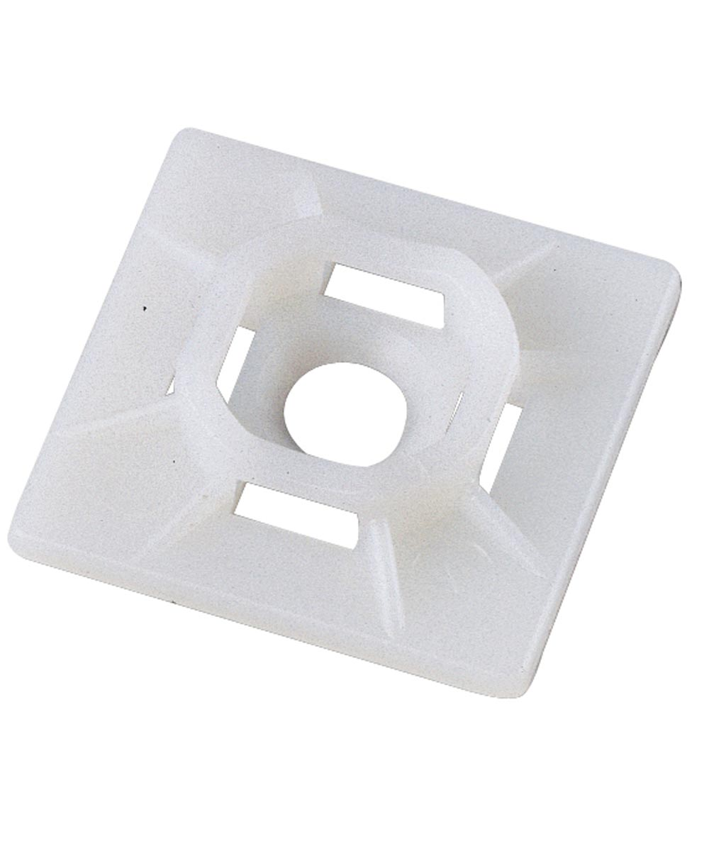 Natural Mounting Base For Cable Ties