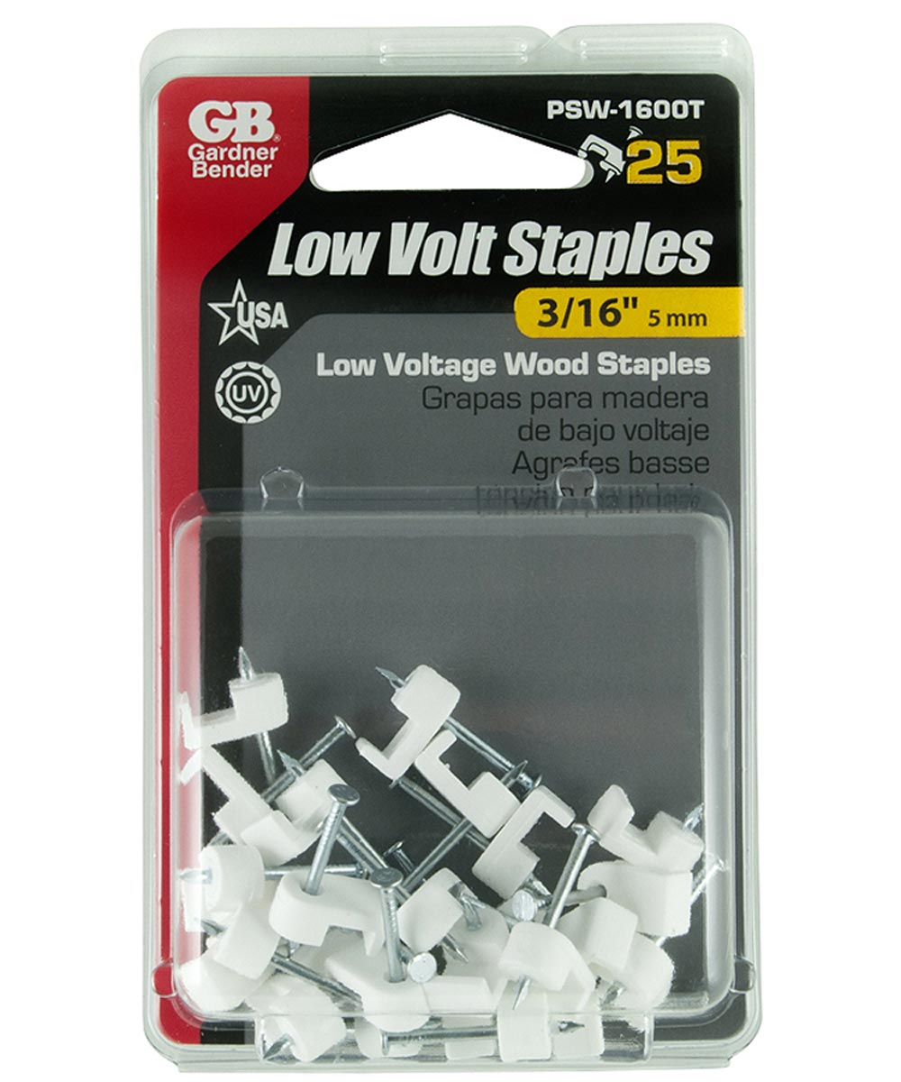 Coaxial Staples
