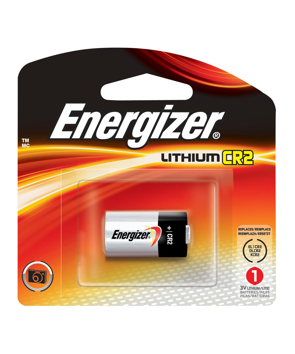 Energizer 1CR2 3V Lithium Photo Battery, 1 Pack