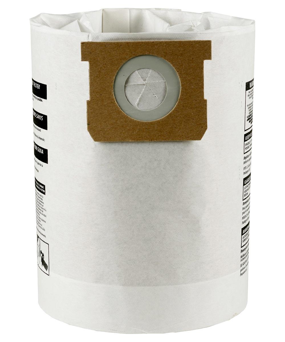 Shop-Vac 10-14 Gallon Disposable Vacuum Filter Bags, 3 Pack