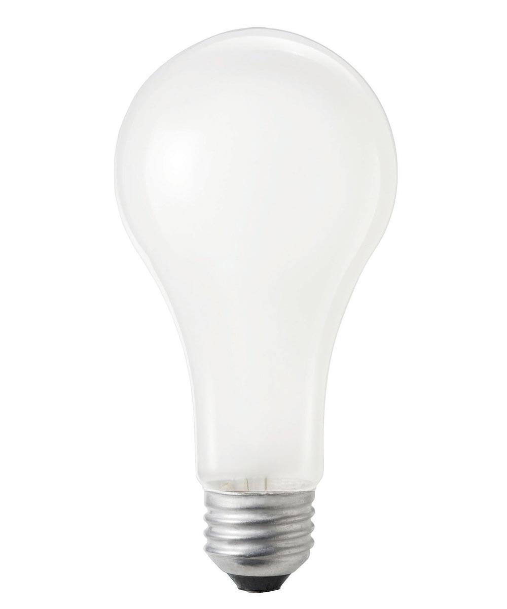 200 Watt Incandescent A21 DuraMax Household Light Bulb