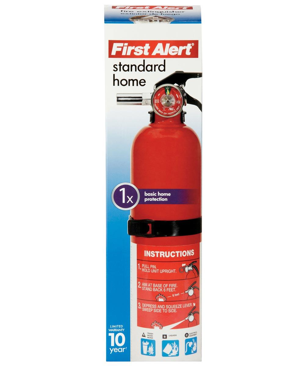 First Alert Standard Multi-Purpose Home Fire Extinguisher