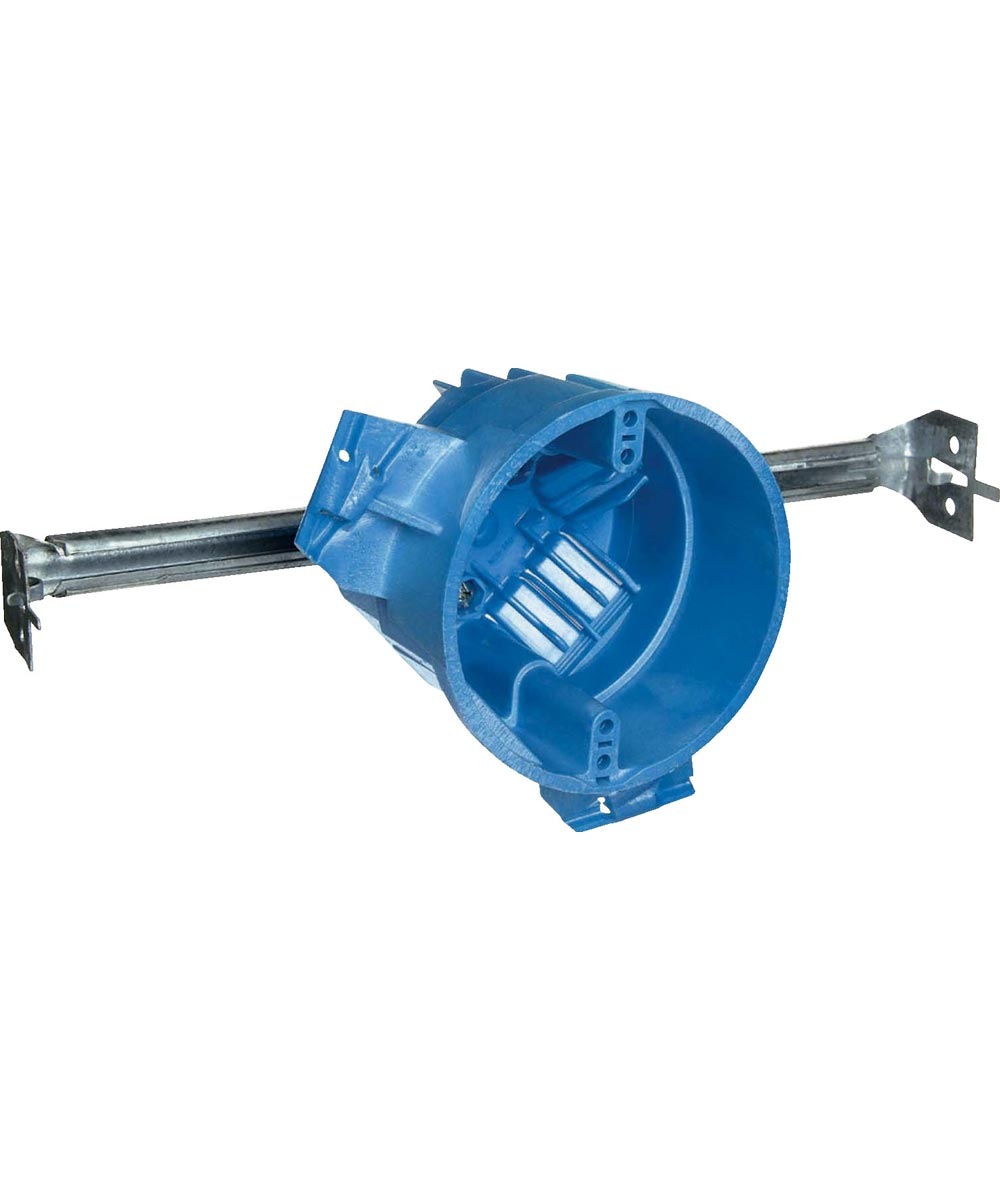 SuperBlue Hard Shell Ceiling Box With Hanger Bar