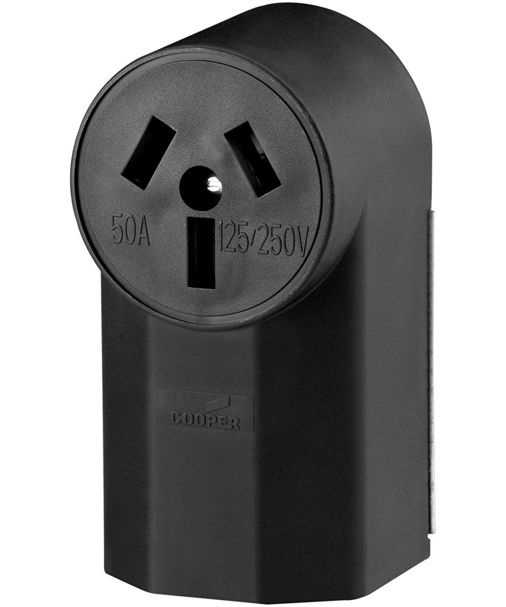 4 Wire Range Power Receptacle, 50A
