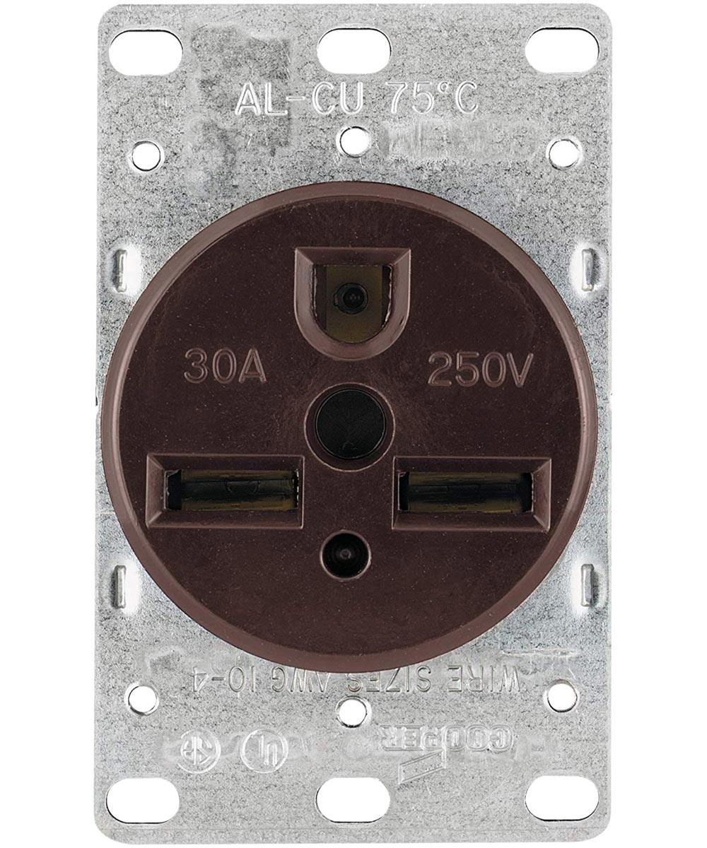 3 Wire Power Receptacle, 30A